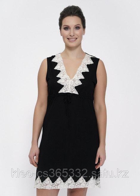 Женская ночная сорочка с кружевом, р-ры 48-56