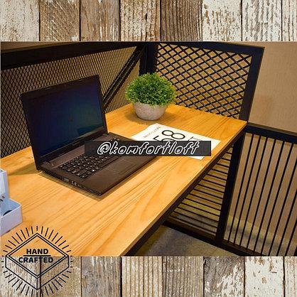 Стол с металлическим каркасом в стиле Loft, фото 3