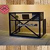 Стол с металлическим каркасом в стиле Loft, фото 2