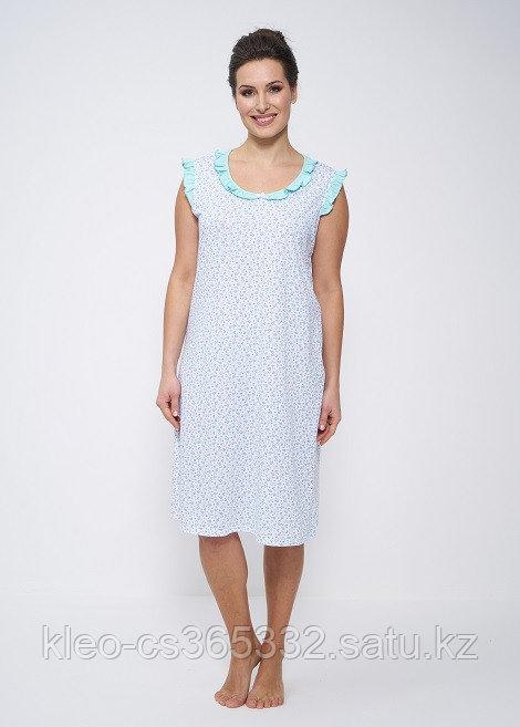 Женская ночная хлопковая сорочка, р-ры 52-62