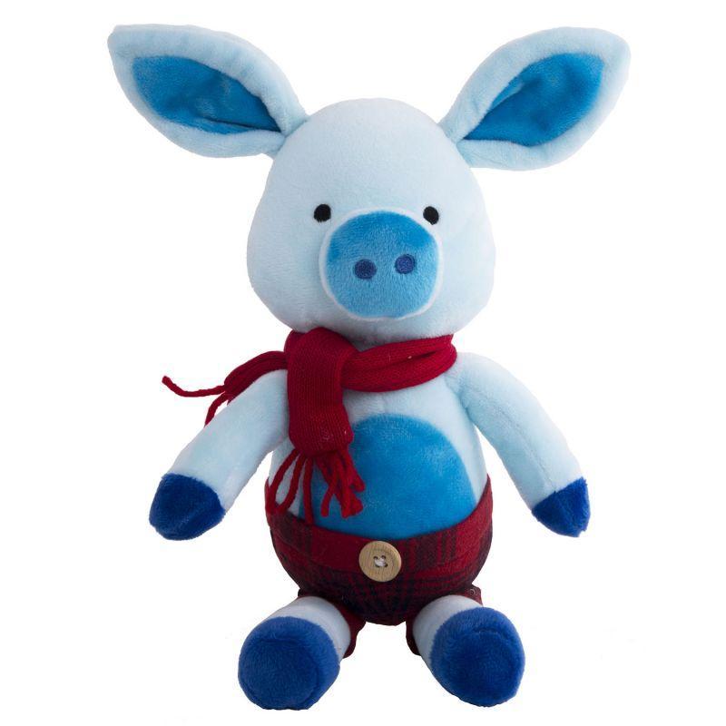 Мягкая игрушка Поросенок Франт, 20 см.