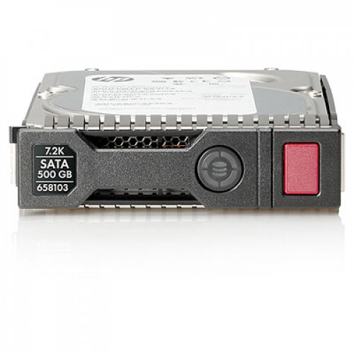 "Жесткий диск HP 658071-B21 500GB 7.2K 6G SATA 3.5"" LFF Hot Plug SmartDrive Carriers Hard Drive"