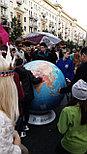 Глобус политический  1м 30 см, вращаемый во всех направлениях, разборный, фото 2