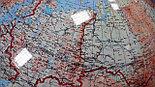 Глобус карта звездного неба 1м 30 см, вращаемый во всех направлениях, разборный, фото 4