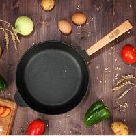 "Сковорода чугунная ""Оптима"", BRIZOLL, 20 х 3,5 см, ручка"