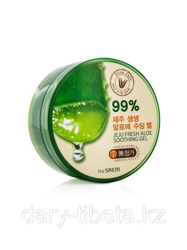 The Saem Jeju Fresh Aloe Soothing Gel 99%- Универсальный Алоэ-Гель