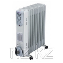 Масляный радиатор 11 секций с вентилятором Almacom ORF-11H
