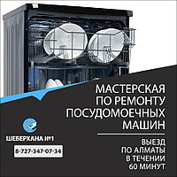 Замена впускного клапана посудомоечной машины MAUNFELD
