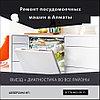 Вскрытие двери загрузки посуды посудомоечной машины Smeg