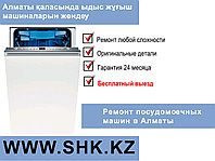 Разблокирование электронного блока посудомоечной машины MAUNFELD