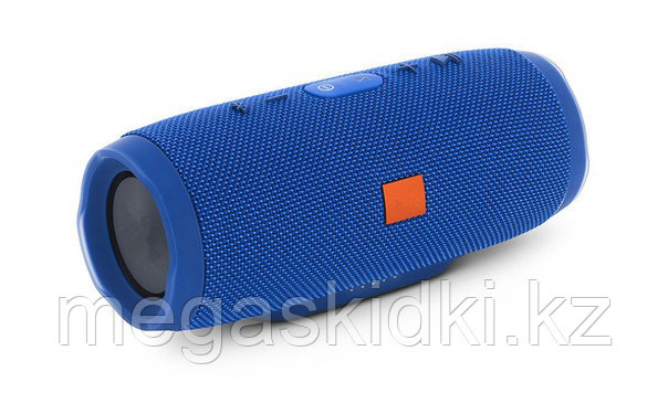 Портативная колонка Bluetooth E3 CHARGE3+ голубой