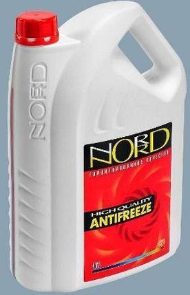 Антифриз Nord 10 л. красный, фото 2