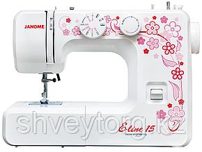 Электромеханическая швейная машина Janome Janome E-line 15