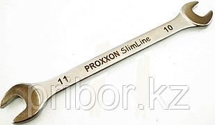 23834 Proxxon Рожковый гаечный ключ 10 x 11 мм