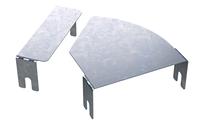 Крышка для угла горизонтального изменяемого угла CPO 0-45 осн.400, фото 1