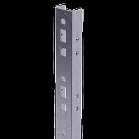 Профиль прямолинейный, L375, толщ.2,5 мм, на 3 рожка, фото 1