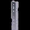 Профиль прямолинейный, L875, толщ.2,5 мм, на 7 рожков