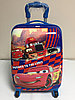 Детский чемодан для мальчика с 4-х до 7-ми лет. Высота 44 см,длина 30 см,ширина 22 см.