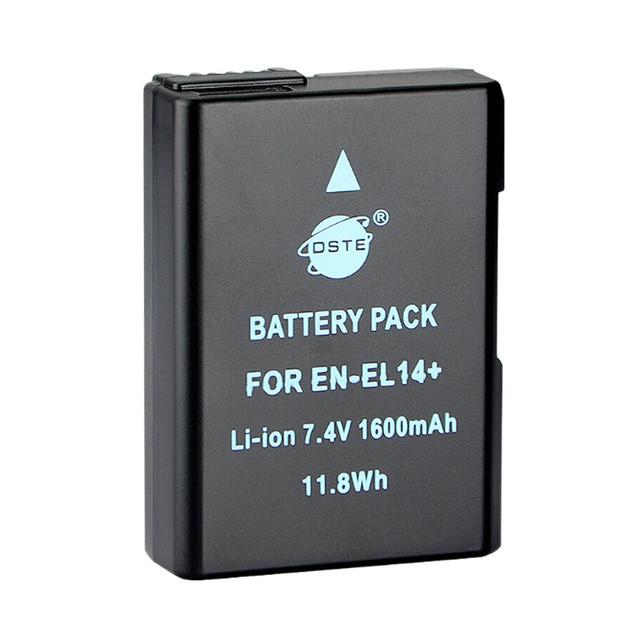 Аккумуляторы EN-EL14 дубликат на Nikon D3100 D3200  D3300 D5100 D5200  D5300 а также P7000  P7100 P7200 P7800