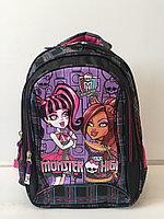 Школьный рюкзак для 1-го класса Monster High. Высота 38см,длина 26см,ширина 17см., фото 1