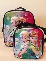 Школьный рюкзак для девочек с 1-го по 3-й класс.Высота 39см,длина 29см,ширина 16см., фото 1
