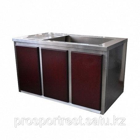 Мармит горячих блюд на 3 GN 1/1-150, с подогреваемым шкафом и декором, эл. 7912.12070.А1