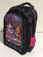 Школьный рюкзак для девочек 1-2 класс. Высота 38 см, длина 27 см, ширина 17 см., фото 1