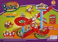 Крутые Бобы Mighty Beanz Рэйс Трек + 2 боба (стандартные) JH2822, фото 1