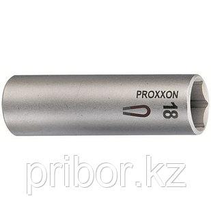 """23394 Proxxon Свечной ключ с магнитной вставкой, на 1/2""""  18 мм"""