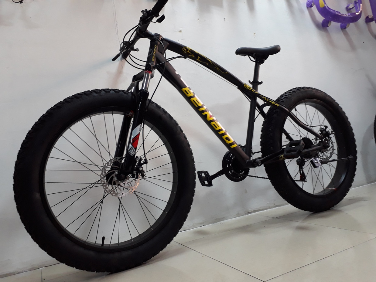 Крутой велосипед Фэтбайк Beinaiqi. Fatbike