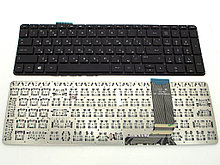 Клавиатура для ноутбука HP Envy 15J series, RU, черная