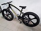 Брутальный велосипед Фэтбайк Beinaiqi на литых дисках, фото 5