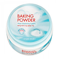 Etude House Baking powder pore cleansing cream 180ml -Крем для лица с содой для снятия макияжа и очищения пор