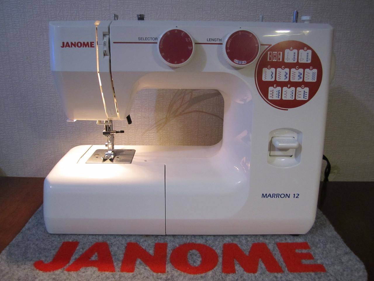 Швейная машинка Janome Marron 12