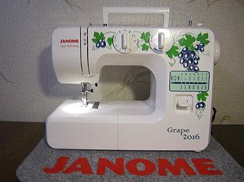 Janome Grape 2016 Электромеханическая швейная машина