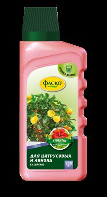 """Удобрение комплексное жидкое для лимона и цитрусовых Фаско """"Цветочное счастье"""" 285мл, фото 2"""