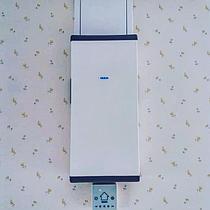 Рекуператор Vakio Base, рассчитанный на 35 кв.м., обеспечивает помещение свежим воздухом без потери тепла.
