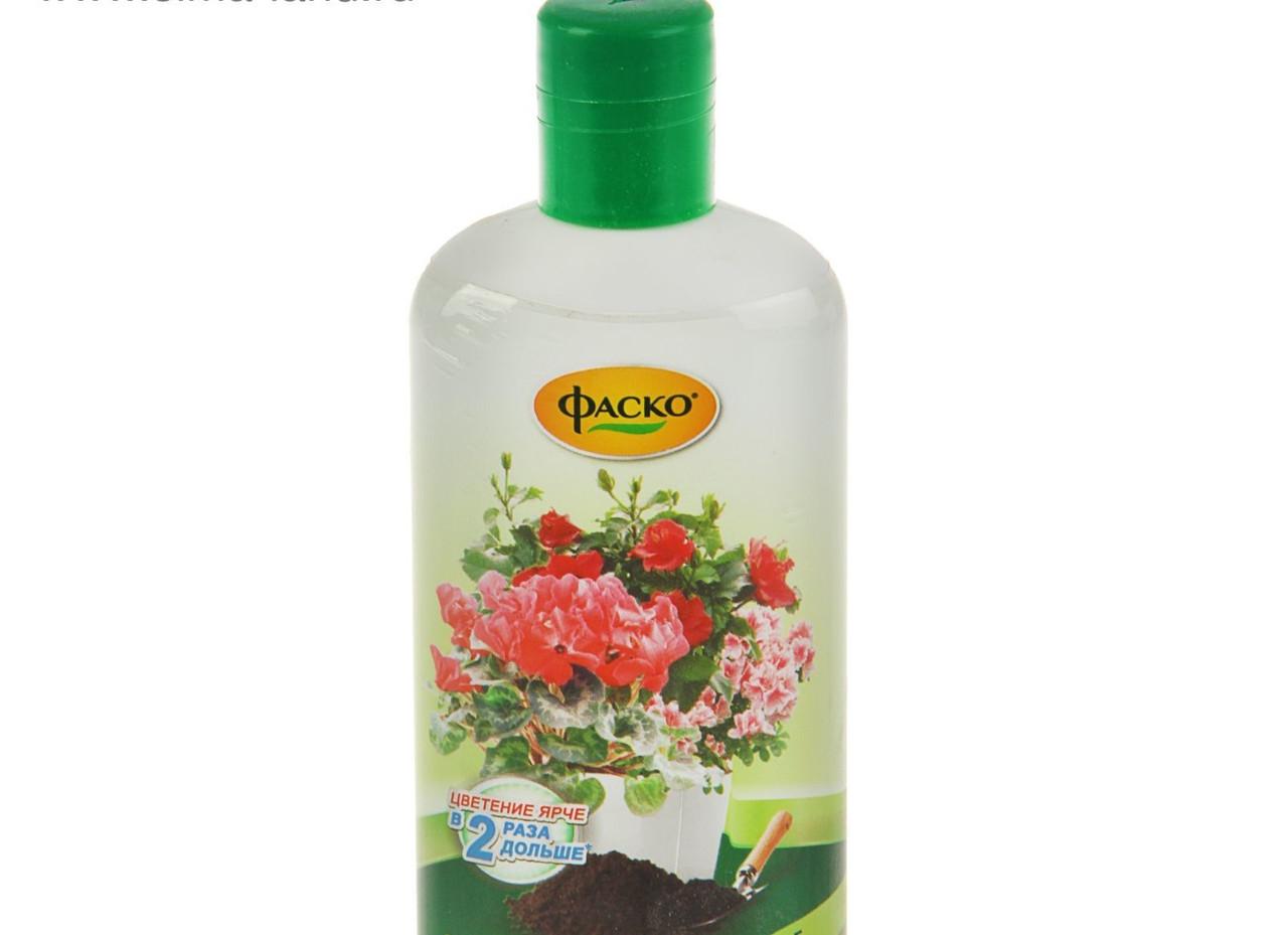 """Удобрение жидкое стимулирующее цветение Фаско """"Цветочное счастье"""" 250мл"""