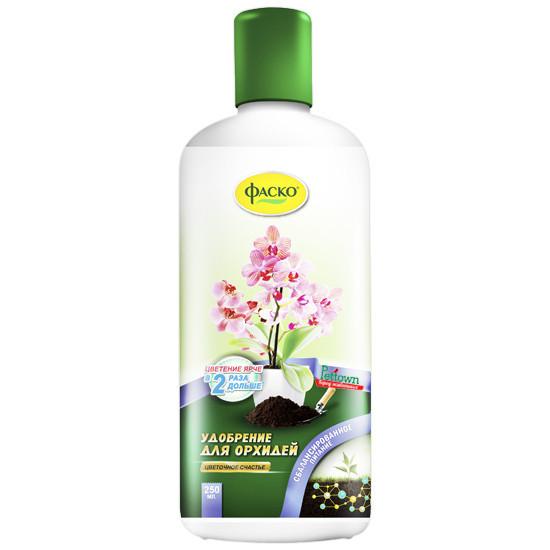 """Удобрение комплексное жидкое для орхидей Фаско """"Цветочное счастье"""" 250мл"""