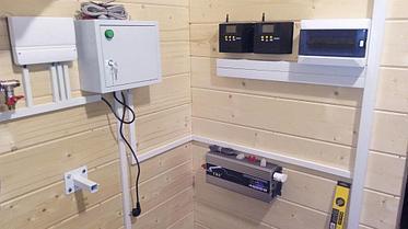 Солнечная электрическая 30 кВт*ч и водонагревательная станция в Алматинской обл., г. Капшагай 12