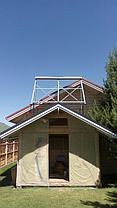 Солнечная электрическая 30 кВт*ч и водонагревательная станция в Алматинской обл., г. Капшагай 13