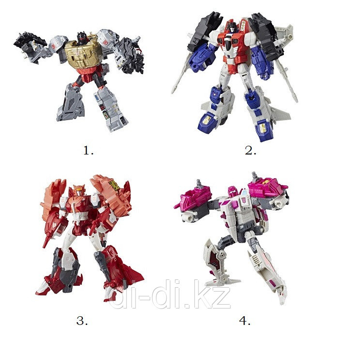 Hasbro Transformers Игрушка трансформер Дженерейшнз Вояджер Мощь Праймов