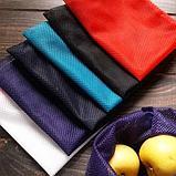 Синтетика. Многоразовый мешочек авоська для овощей и фруктов., фото 3