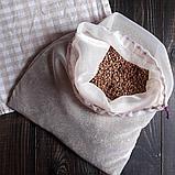 Капрон. Многоразовый мешочек авоська для круп и макарон., фото 3