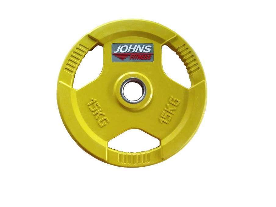 Диск Johns цветной обрезиненный 15 кг (91010-15C)