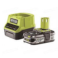 Аккумулятор Ryobi ONE+ RC18120-125 (18 В; 2.5 А*ч; Li-Ion) + зарядное устройство RC18120 (5133003359)