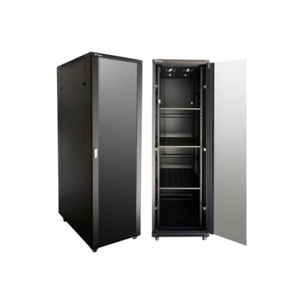 NCB22-610-BAA-C Linkbasic Сетевой шкаф 22U 600*1000*1200 дверь стекло