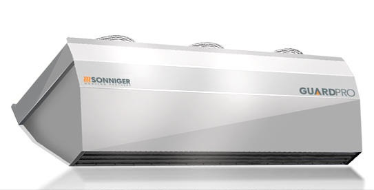 Воздушно-тепловая завеса Sonniger GUARDPRO 150W (1,5 метровая; с водяным нагревателем)