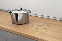 Защитные круги диаметром 55/30 мм для мебели и столешниц самоклеящаяся высота: 3,5 мм, фото 1