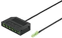 6-и канальный  разветвитель 24V/20AWG/Bla/2.0m